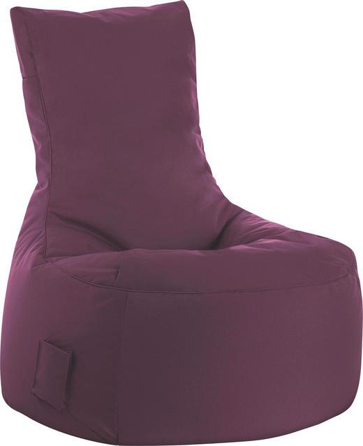 SITZSACK Aubergine - Aubergine, Design, Textil (90/95/65cm) - CARRYHOME