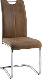 SVIKTSTOL - brun/ljusbrun, Design, metall/textil (43/99/57cm) - MÖMAX modern living