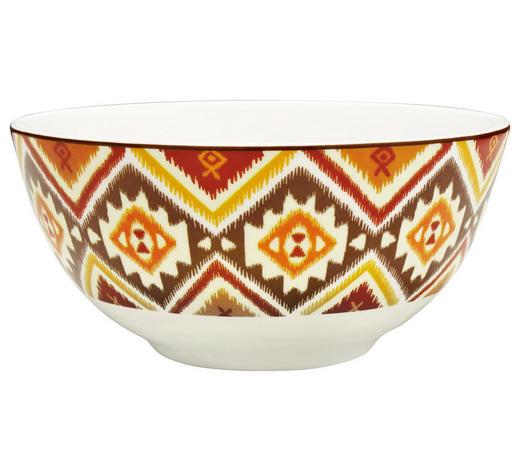 MÜSLISCHALE - Multicolor, Basics, Keramik (15cm) - Landscape