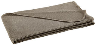 WOHNDECKE 150/200 cm Taupe  - Taupe, Design, Textil (150/200cm) - Novel