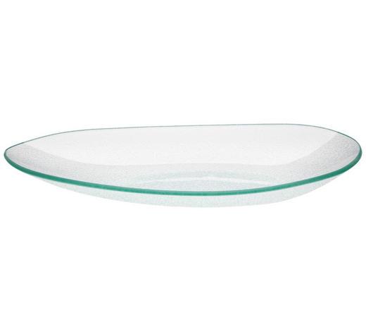 SERVIERPLATTE - Klar, Design, Glas (33,5/4/18,3cm) - Homeware