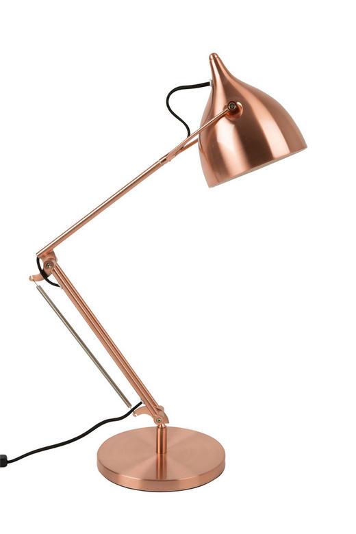 SCHREIBTISCHLEUCHTE - Kupferfarben, Design, Metall (22/76cm)