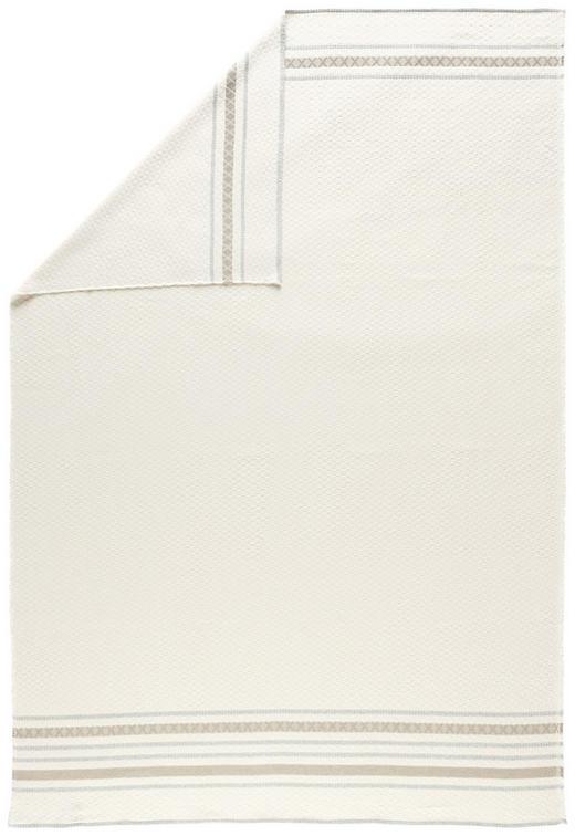 KUSCHELDECKE - Weiß, KONVENTIONELL, Textil (140/200/cm) - David Fussenegger