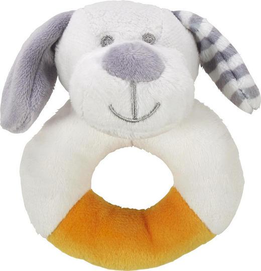 RASSEL - Weiß/Grau, Basics, Textil (11cm) - My Baby Lou