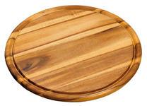 SCHNEIDEBRETT - Akaziefarben, Basics, Holz (30/30/1,5cm) - Homeware