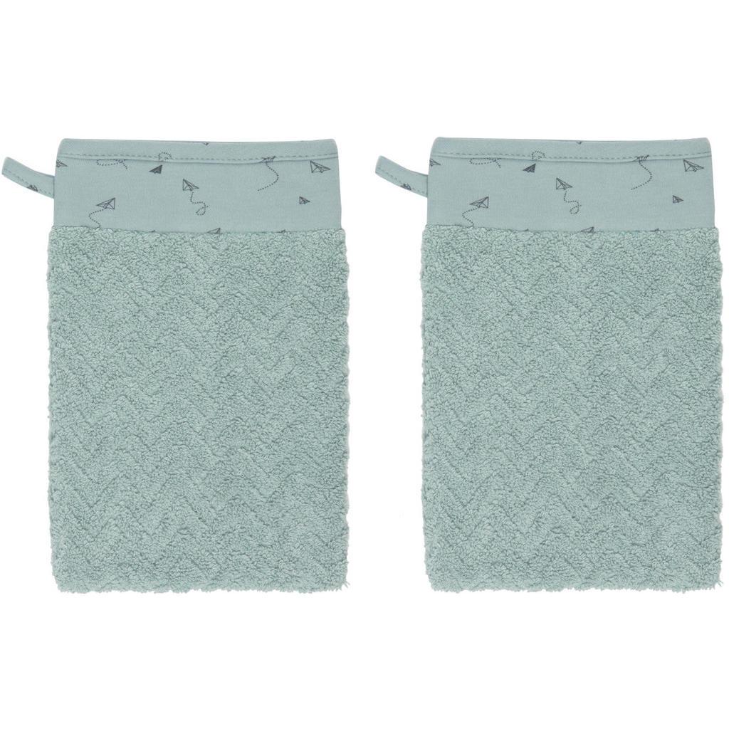 Image of Bebe Jou Babywaschhandschuh 21,5/15 cm , 3032055 , Grün , Textil , 21.5 cm , angenehm weich, hochwertige Qualität, schadstoffgeprüft , 008296010320