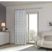 ÖSENVORHANG blickdicht - Mintgrün, Design, Textil (140/245cm) - Esposa