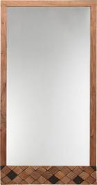 SPIEGEL - Akaziefarben, Trend, Glas/Holz (76/150/3cm) - Ambia Home