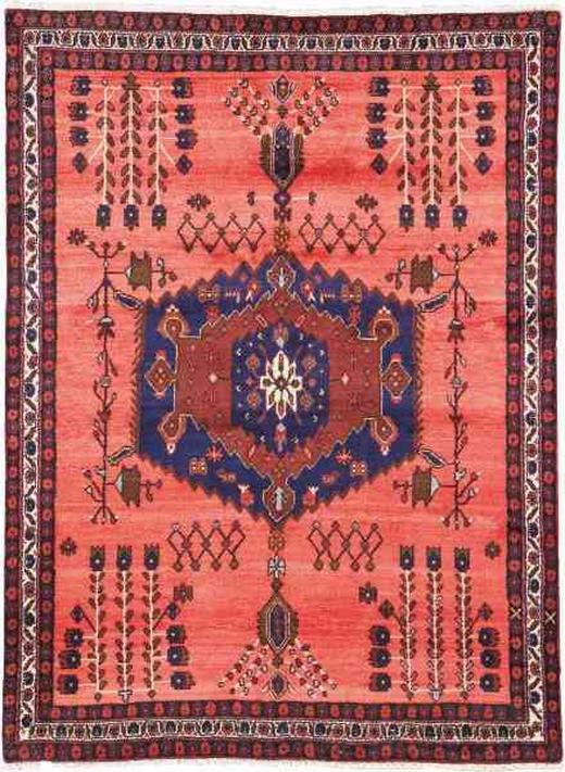 ORIENTTEPPICH 150/200 cm - Rot, LIFESTYLE, Textil (150/200cm) - Esposa