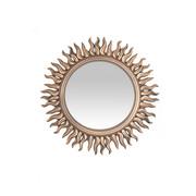 OGLEDALO ZIDNO - boje zlata, Design, staklo (53/53/2,5cm) - Carryhome