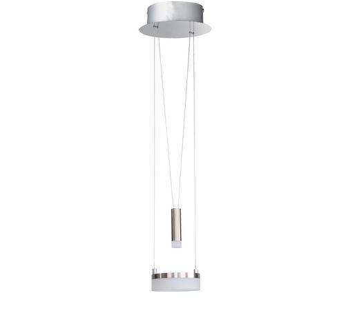 LED-HÄNGELEUCHTE - Chromfarben/Nickelfarben, Design, Metall (18/150/18cm)