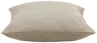Kissenhülle Kira 40x40 cm - Taupe, ROMANTIK / LANDHAUS, Textil (40/40cm) - James Wood