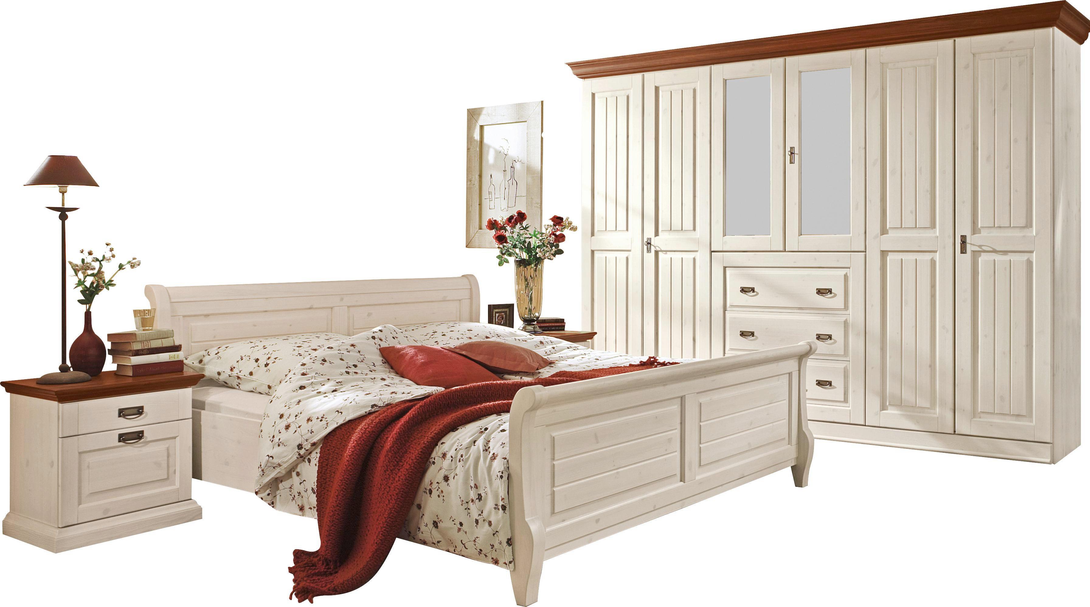 Schlafzimmer In Kieferfarben, Weiß Online Kaufen ➤ Xxxlutz