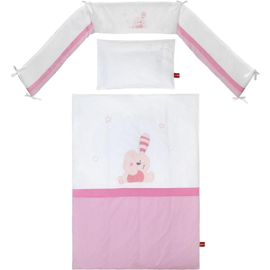 My Baby Lou GITTERBETTSET Floppy Weiß | Kinderzimmer > Textilien für Kinder > Babytextilien | Textil | My Baby Lou