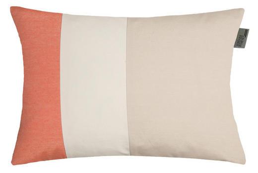 KISSENHÜLLE Beige, Creme, Orange 38/58 cm - Beige/Creme, Textil (38/58cm) - Schöner Wohnen