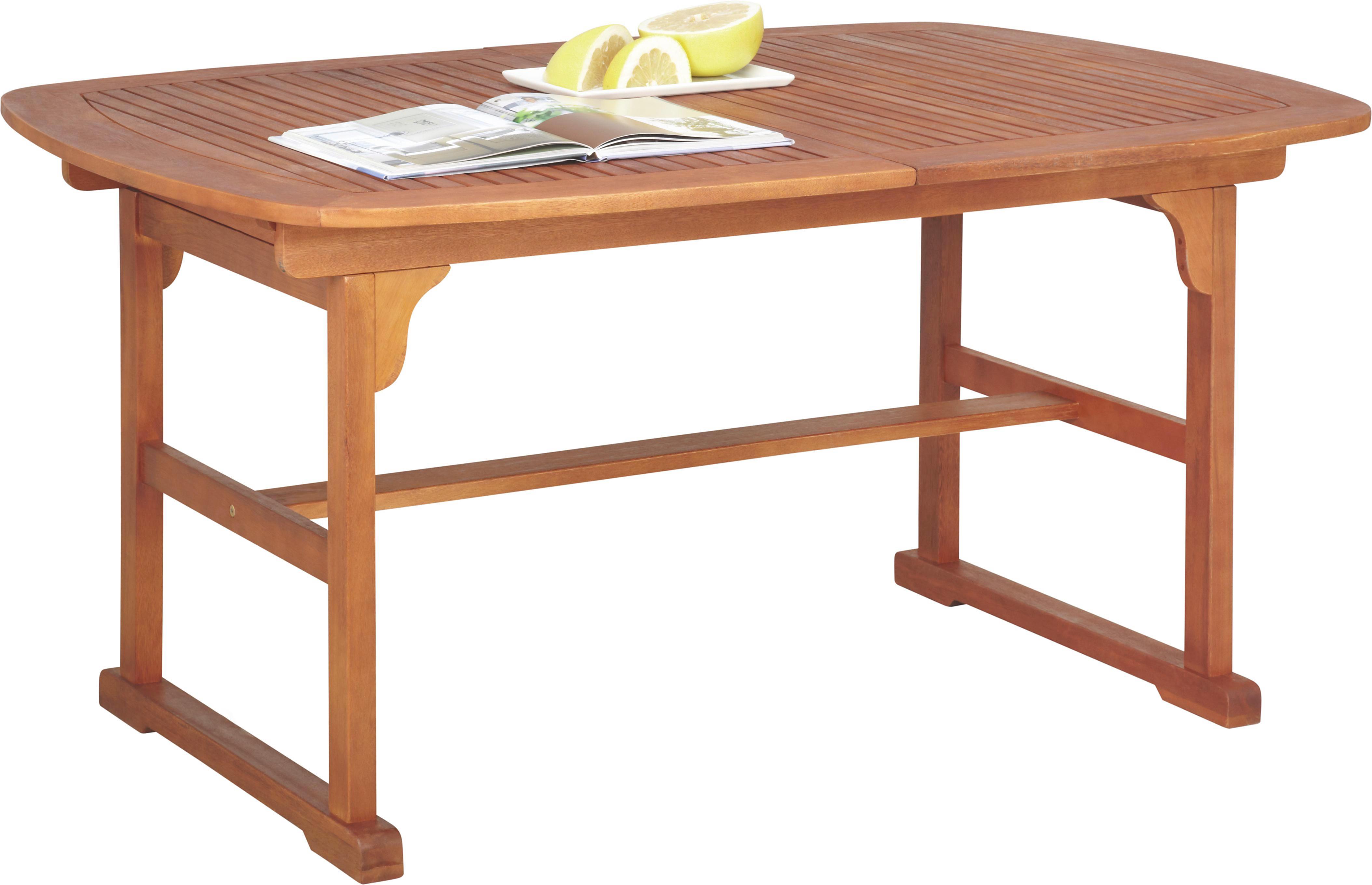 Gartentisch holz  GARTENTISCH aus Holz Eukalyptusholz in Braun online kaufen ➤ XXXLutz