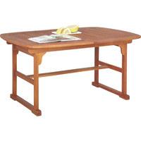 STOL VRTNI - smeđa, Lifestyle, drvo (100/74/150/200cm) - Ambia Garden
