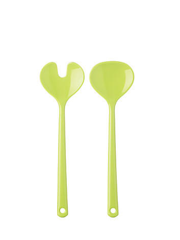 SALATBESTECK - Grün, Basics, Kunststoff (28cm) - MEPAL ROSTI