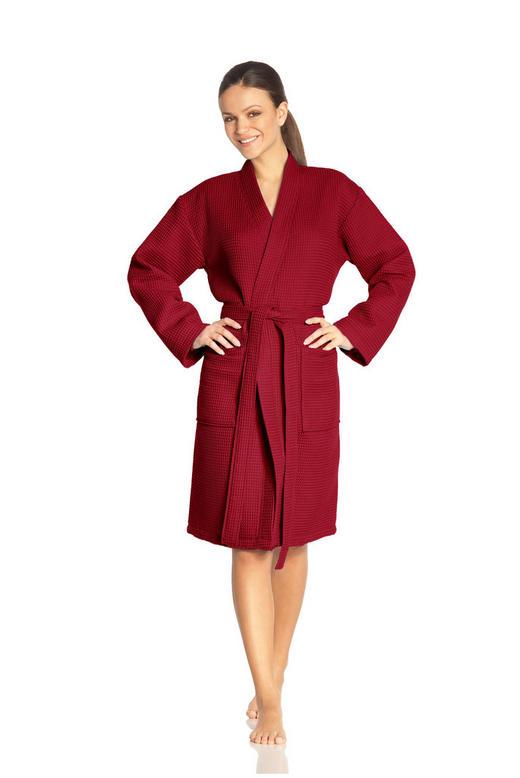 BADEMANTEL XL// - Rot, Basics, Textil (XL//null) - Vossen