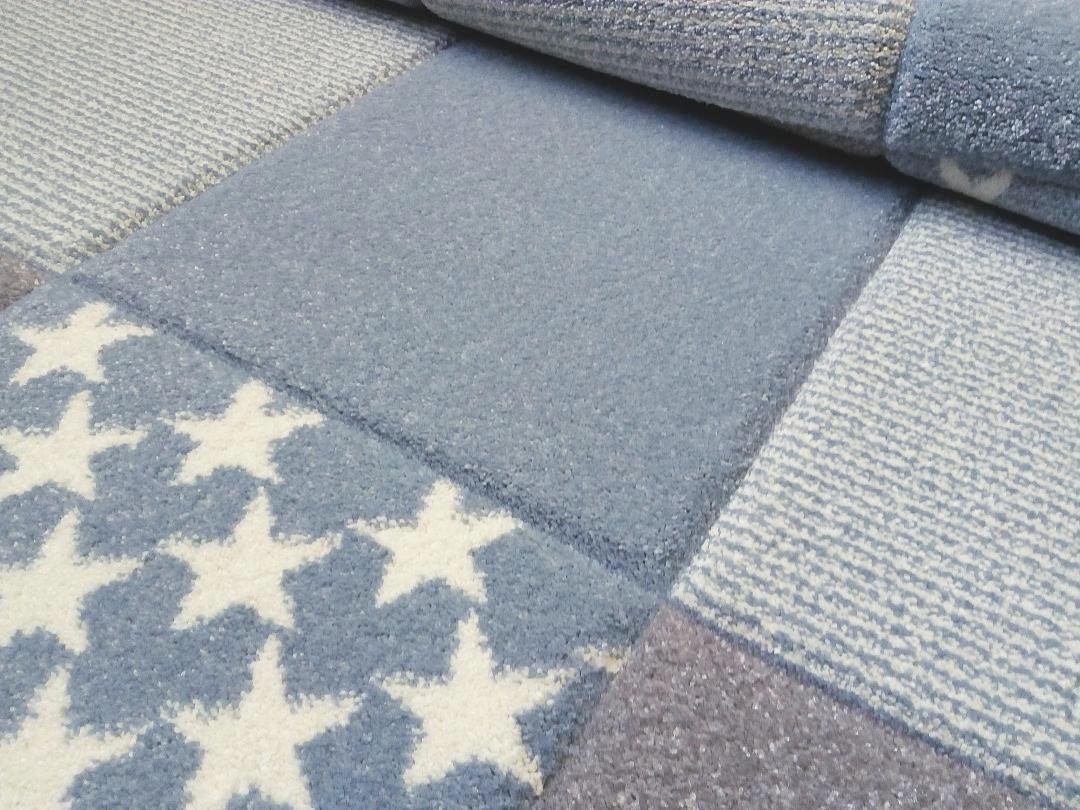 KINDERTEPPICH  Blau  120/180 cm - Blau, Textil (120/180cm)