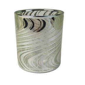 VÄRMELJUSHÅLLARE - silver, Design, glas (9/10cm) - Ambia Home
