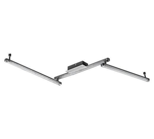LED-DECKENLEUCHTE - Design, Kunststoff/Metall (122/7,5/7cm) - Novel