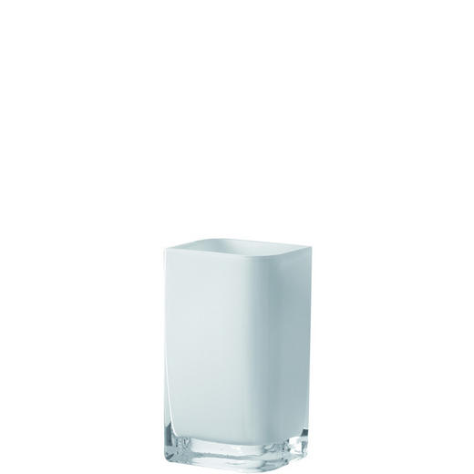 VASE - Weiß, Basics, Glas (11/20/9.5cm) - LEONARDO