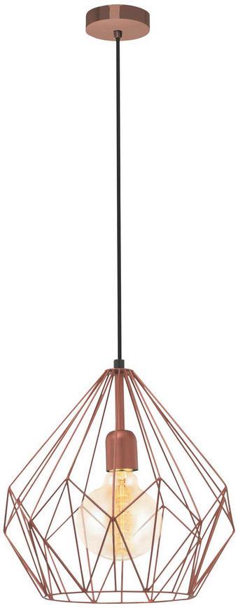 TAKLAMPA - kopparfärgad, Design, metall (31/110cm) - MARAMA