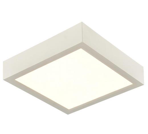 LED-DECKENLEUCHTE   - Weiß, KONVENTIONELL, Kunststoff (17/17/4cm) - Boxxx
