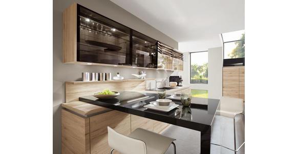 Einbauküche Rom individuell planbar - MODERN, Holzwerkstoff - Vertico