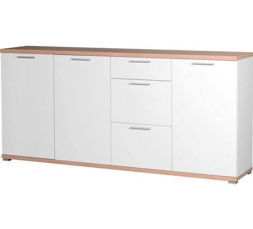 SIDEBOARD 192/88/40 cm - Eichefarben/Silberfarben, Design, Holzwerkstoff/Kunststoff (192/88/40cm) - Carryhome
