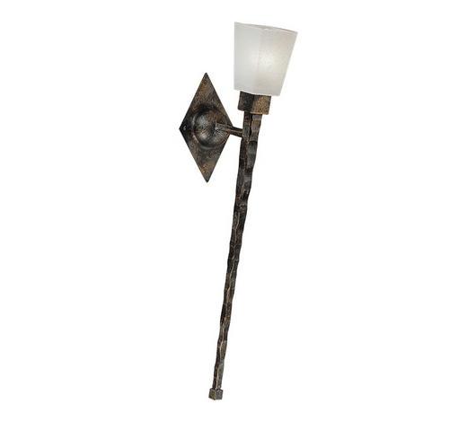 WANDLEUCHTE - Schwarz, LIFESTYLE, Metall (10/58/19cm)