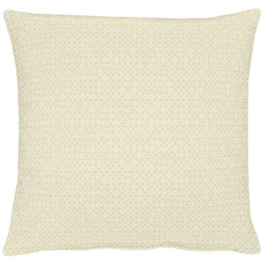 KISSENHÜLLE Creme, Goldfarben - Goldfarben/Creme, LIFESTYLE, Textil (49x49cm) - Ambiente