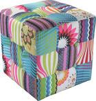 TABURE - višebojno, Design, drvo/tekstil (40/40/40cm) - HOM IN