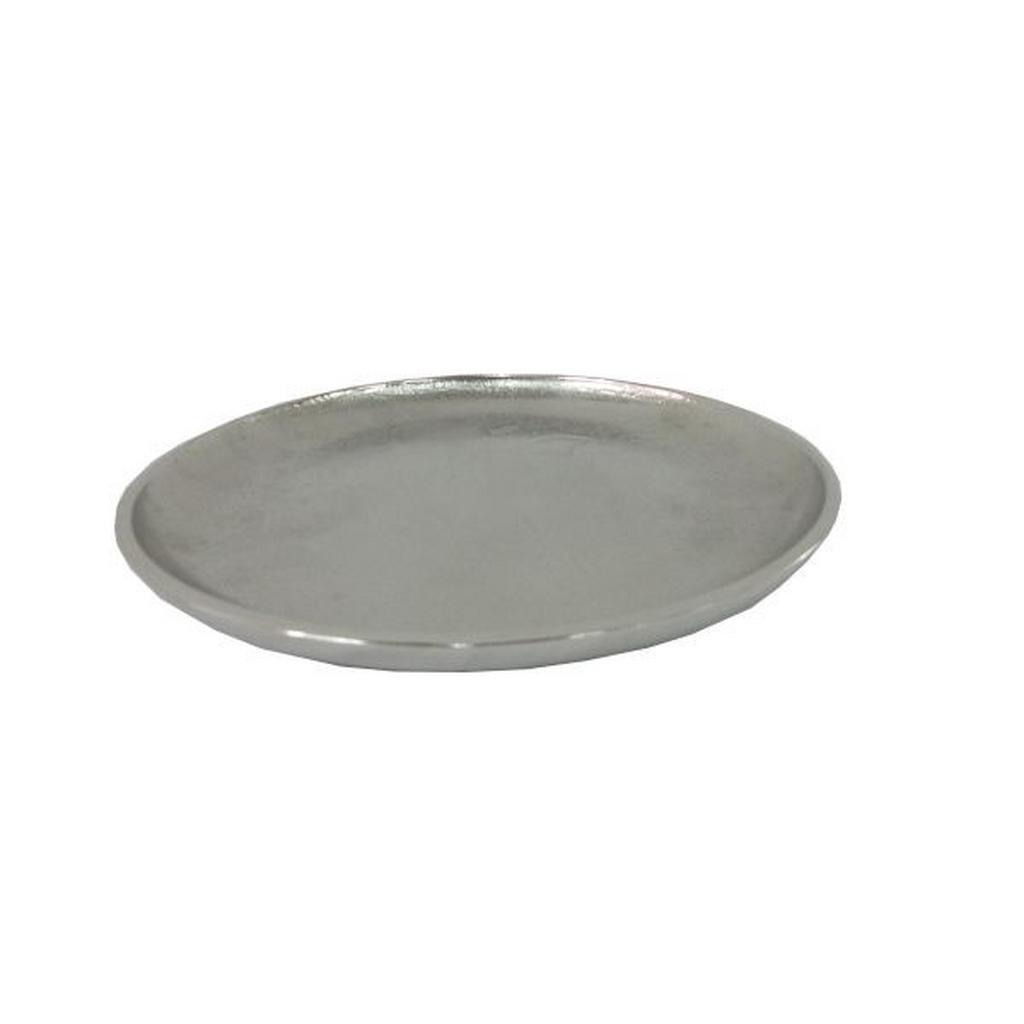 Image of Ambia Home Dekoschale , Me-9051 , Nickelfarben , Metall , Uni , vernickelt , handgemacht , 0040030009