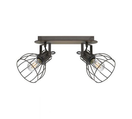 STRAHLER - Silberfarben/Braun, Design, Holz/Metall (9/33,5cm)