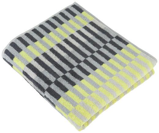 DUSCHTUCH - Gelb, Design, Textil (70/140cm) - Cawoe