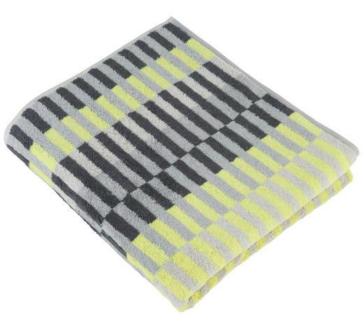 DUSCHTUCH 70/140 cm - Gelb, Design, Textil (70/140cm) - Cawoe