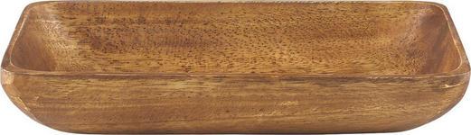 SCHÜSSEL - Akaziefarben, Basics, Holz (30,5/19/7,5cm) - Homeware