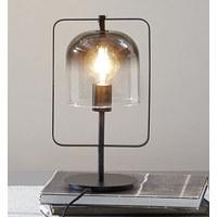 NAMIZNA SVETILKA - črna, Trend, kovina/steklo (18,5/39,5cm) - Dieter Knoll