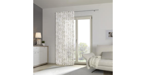 FERTIGVORHANG halbtransparent  - Grau, KONVENTIONELL, Textil (140/245cm) - Esposa