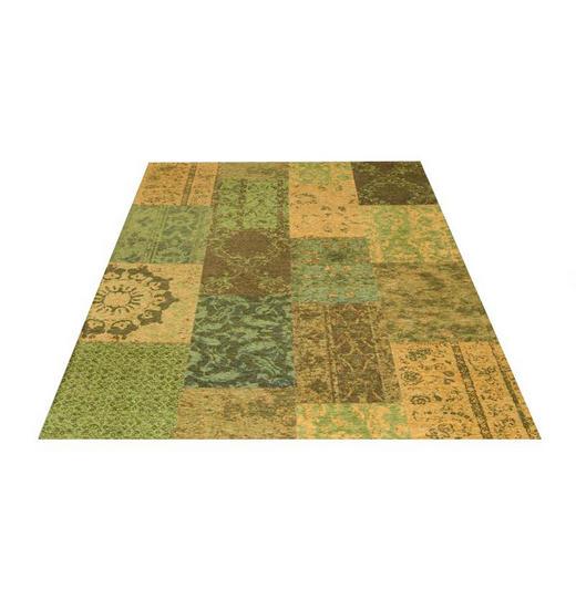 FLACHWEBETEPPICH  140/200 cm  Grün - Grün, Basics, Textil (140/200cm) - Novel