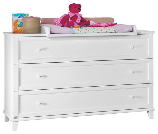 KOMMODE Weiß - Weiß, Basics, Holzwerkstoff (144,3/91,8/56,6cm) - Paidi