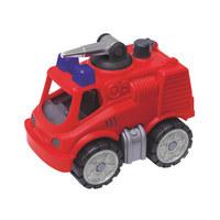 Big Power Worker MiniFeuerwehr Big - Rot/Multicolor, Basics, Kunststoff (11/25/14cm) - BIG