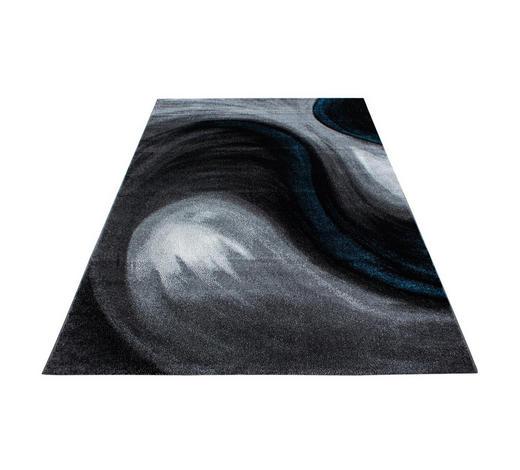 WEBTEPPICH  80/300 cm  Türkis   - Türkis, Trend, Textil (80/300cm) - Novel