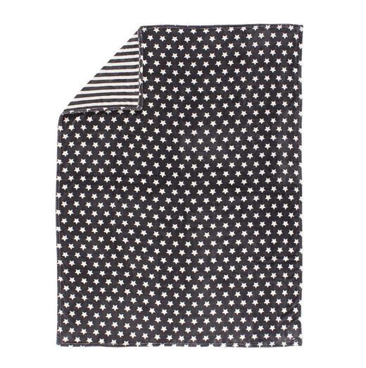 KUSCHELDECKE 150/200 cm Anthrazit - Anthrazit, MODERN, Textil (150/200cm) - Novel