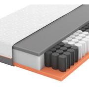 GEL-TASCHENFEDERKERNMATRATZE Primus 250 TFK 90/200 cm 20 cm - Weiß, Basics, Textil (90/200cm) - Schlaraffia
