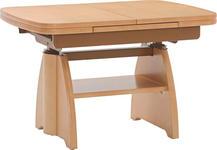COUCHTISCH in Holz 90(130,5/65/56-75 cm - Ahornfarben, KONVENTIONELL, Holz (90(130,5/65/56-75cm) - Venda