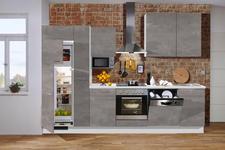 KÜCHENBLOCK E-Geräte, Spüle, Soft-Close-System   - KONVENTIONELL (310cm) - Xora
