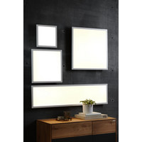 LED-PANEEL   - Weiß, KONVENTIONELL, Kunststoff/Metall (30/30/4,5cm) - Novel